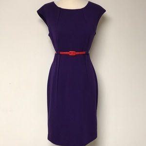 """Purple """"Calvin Klein"""" Dress"""